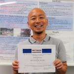 久徳康史機構准教授、APA Best Poster Award受賞!