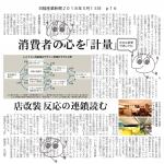 日経産業新聞にサイコメトリクスの記事掲載!